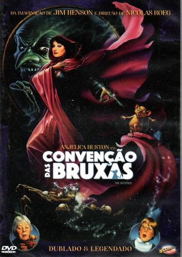 Dvd Convencao Das Bruxas (1990) Classicline - Bonellihq V20