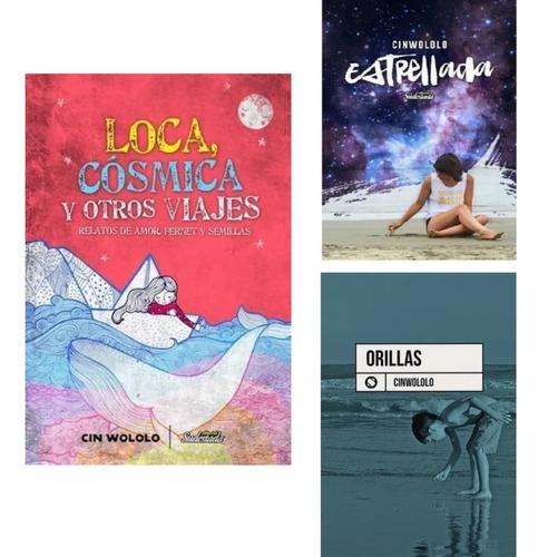 Pack Loca, Cósmica + Orillas + Estrellada - Cinwololo