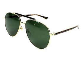 0aac0a08e1 Gafas Lentes Gucci Bambú Chapeados Oro 24k Originales - Lentes en ...