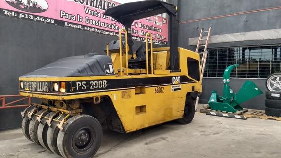2002 Compactador Neumatico P/ Asfalto Caterpillar Ps 200 B