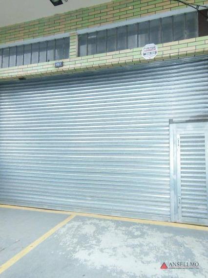 Galpão Para Alugar, 440 M² Por R$ 7.100,00/mês - Centro - São Bernardo Do Campo/sp - Ga0343