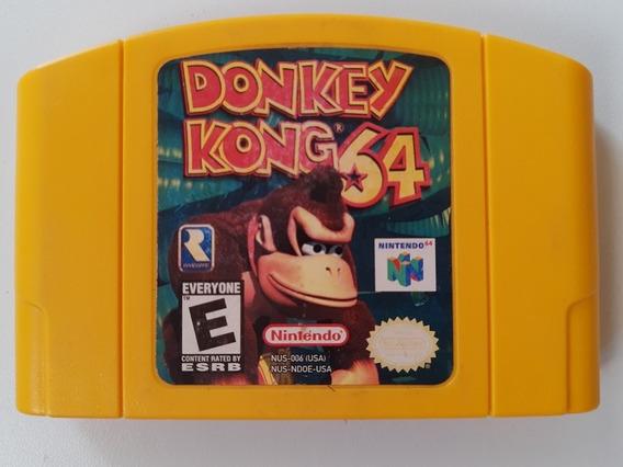 Donkey Kong 64 Original Americano! Jogo Novinho + Garantia!