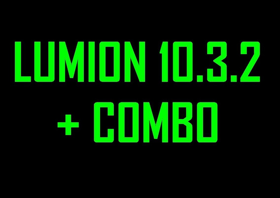 Lumion 10.3.2 + Combo