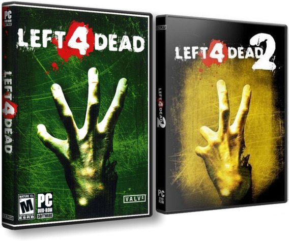 Combo Left 4 Dead 2 + Left 4 Dead 1 - Pc Dvd - Frete 8 Reais