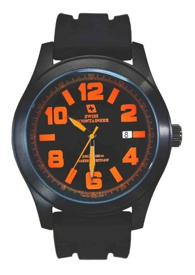 Relogio Suiço Watch Swiss Mountaineer Sml8041 48mm