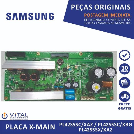 Placa X-main Samsung Pl42s5sc/xaz / Pl42s5sc/xbg / Pl42s5sx/