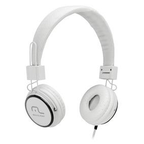 Fone De Ouvido Com Microfone Headfun Branco P2