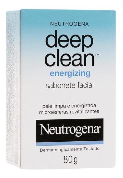 Sabonete Neutrogena Deep Clean Energizing 80g