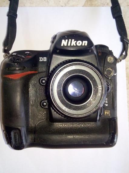 Cámara Nikon D3