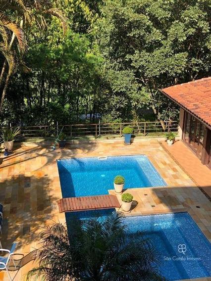 Casa Com 4 Dormitórios À Venda, 691 M² Por R$ 3.200.000 - Nova Higienópolis - Jandira/sp - Ca1695