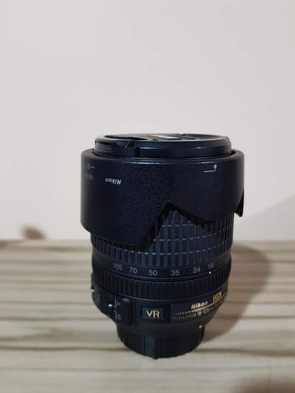 Lente Nikon Nikkor 18-105mm Ed Vr