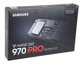 Samsung 970 Pro Ssd M.2 2280 512gb Pcie Nvme Pronta Entrega