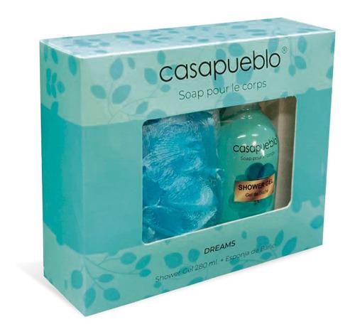 Pack Casapueblo Gel De Ducha Dreams+esponja 250 Ml