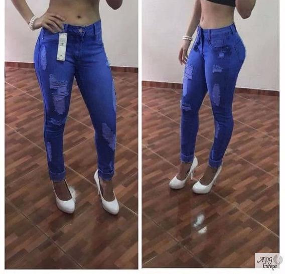 2018 Calça Jeans Usual Estilo Pit Bull Cos Medio *******
