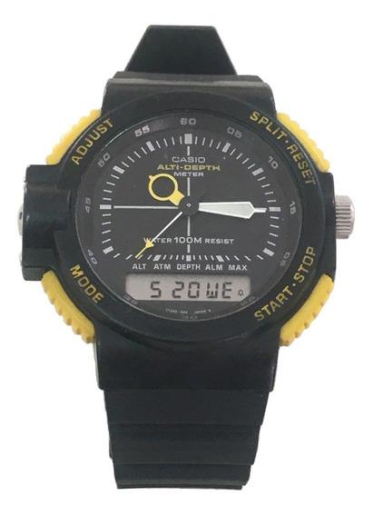Relógio Casio Arw-320 Funcionando Perfeitamente, Raridade