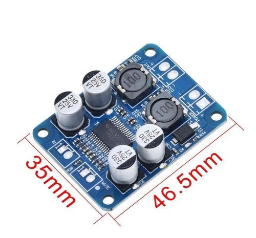Integrado Amplificador Digital Tpa31181 Mono 1x60w 12v 24v