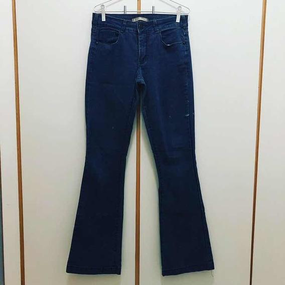 Calça Jeans Flare Mini Destroyed 40