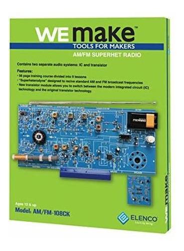 Elenco Am / Fm Radio Kit | Cambiar Entre Circuitos Integrado
