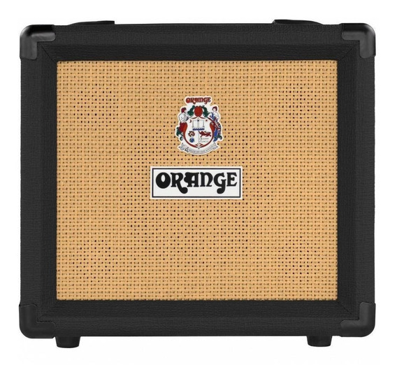 Amplificador Orange Crush Series 12 12W transistor preto