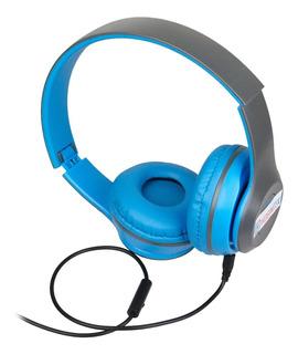 Auriculares Plegables Para Telefono Tablet Play Vincha Mic