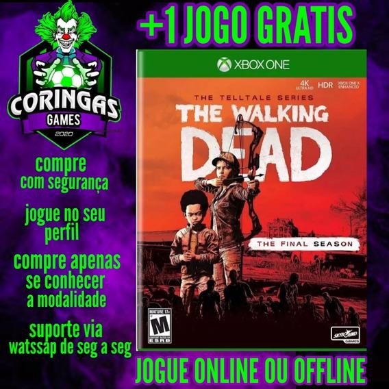 The Walking Dead Final - Xbox One - Mídia Digital + Brinde