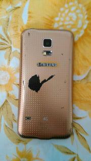 Samsung Galaxy S5 Mini 4g Color Dorado Sm-g800m - Liberado