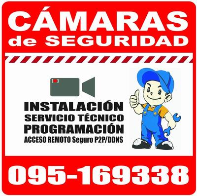 Tecnico Camaras Seguridad Vigilancia Instalacion Service Dom