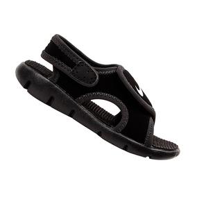 Sandália Nike Infantil Sunray Preta 386519011 Original