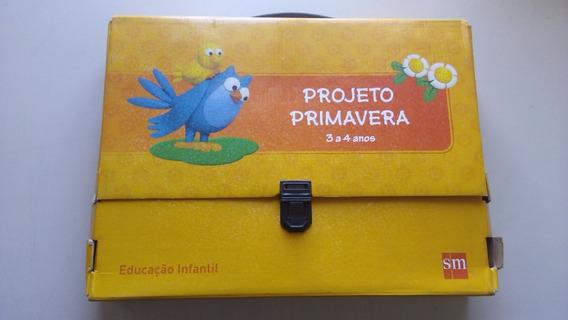 Livro Projeto Primavera 3 A 4 Anos Educação Infantil Sm