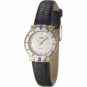 Relógio Cosmos Feminino Cromado Analógico Clássico Os28741s