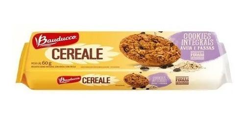 Imagem 1 de 1 de Cookies Cereale Aveia E Uva Passa Bauducco 60g