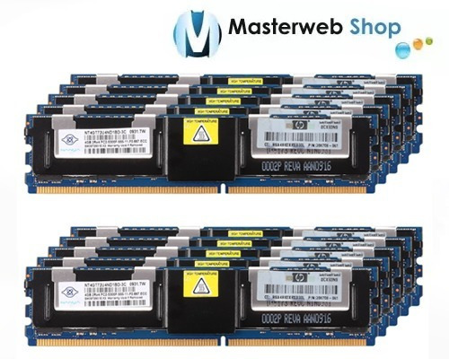 Memoria 4gb Pc2 5300f Servidor Ddr2 2rx4 Ecc 667 Dell Hp Ibm