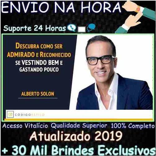 Curso Código Estilo 2019 - Alberto Solon + 30mil Brindes
