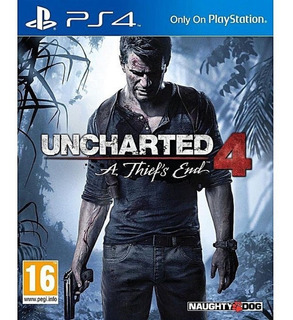 Uncharted 4: A Thiefs End Ps4 - Juego Fisico - Prophone
