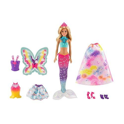 Barbie Dreamtopia Rainbow Cove Juego De Vestir De Cuento De