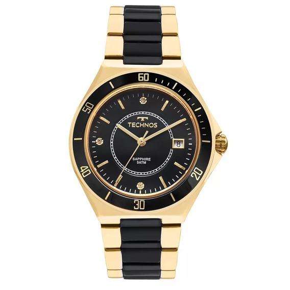 Relógio Technos Feminino Cerâmica Clássico 2115mmn/4p Novo