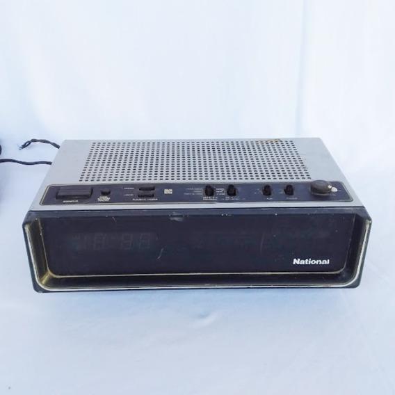 Antigo Radio Relógio National (cod.4544)