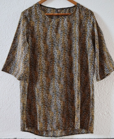 Vestido Corto, Estampado Animal Print