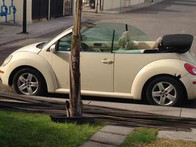 Volkswagen Beetle 2.0 Cabrio 5vel Piel Mt 2006