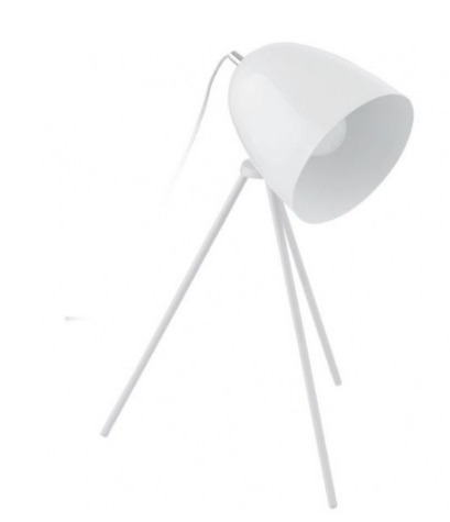 Abajur Branco Don Diego 29x44 A Cm