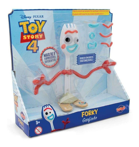 Boneco Toy Story 4 Garfinho Com Rosto Customizável - Toyng