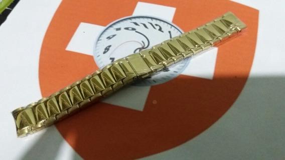 Pulseira 18mm 1004 Tommy Hilfiger Original Dourada - Curvo