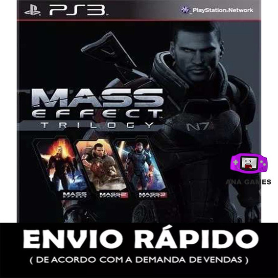 Mass Effect Trilogy Ps3 - Jogo Digital