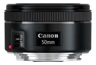 Lente Canon Ef 50mm F/1.8 Stm Para Cámaras Eos Amv