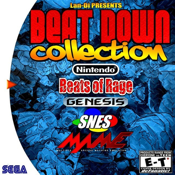 Jogo Dreamcast Beats Of Rage Collection