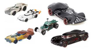 Carrinhos Carships Star Wars Raros Hot Wheels Mattel