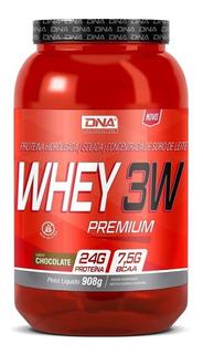 Kit ( 2x ) Whey 3w Premium (908gr) Dna