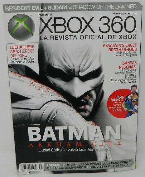 Revista Xbox 360 Especial De Batman Número 31