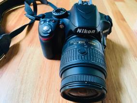 Câmera Nikon D3200 (4904 Cliks) + Tripé + Cartão 4gb + Lente