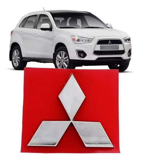 Emblema Grade Mitsubishi Asx 2011 2012 2013 A 2018 Cromada